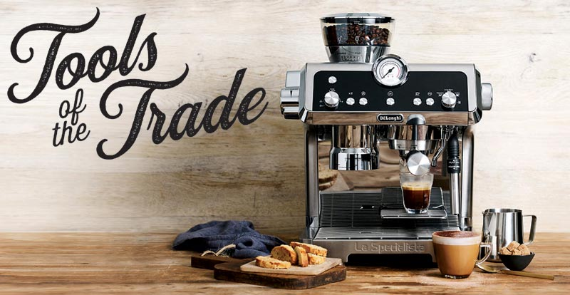 Tools of the trade – coffee machines
