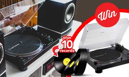 WIN an Audio-Technica Record Starter Pack + 10 new release records!
