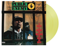 Vinyl album cover artwork for It Takes A Nation by Public Enemy