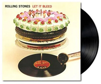 Vinyl album cover artwork for Let It Bleed by The Rolling Stones