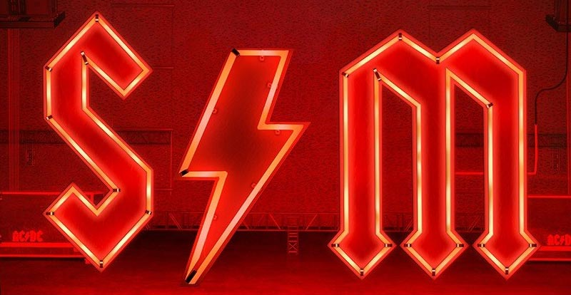 Get your initials AC/DC style!