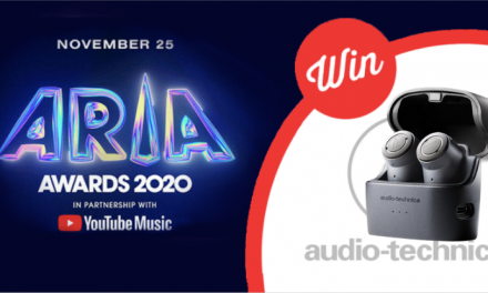 Vote for ARIA winners and enter to win with Audio-Technica