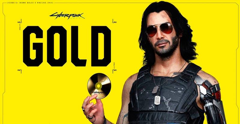 Cyberpunk 2077 goes gold with Keanu