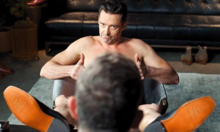Hugh Jackman ONLY wears boots…
