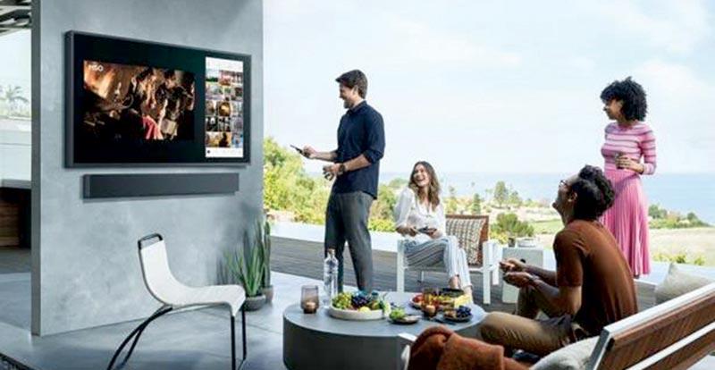 "Samsung The Terrace 55"" UHD LED QLED 4K Smart TV"