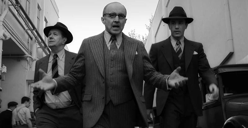 David Fincher's latest, Mank, teased