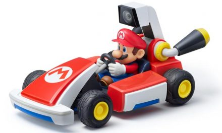 Playing with Mario Kart Live: Home Circuit