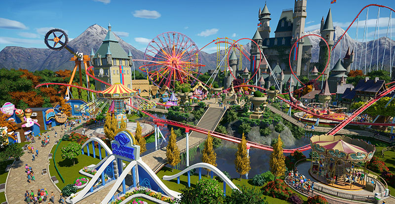 Make a date with Planet Coaster: Console Edition!