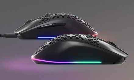 See the light with the SteelSeries Aerox 3 mouse!