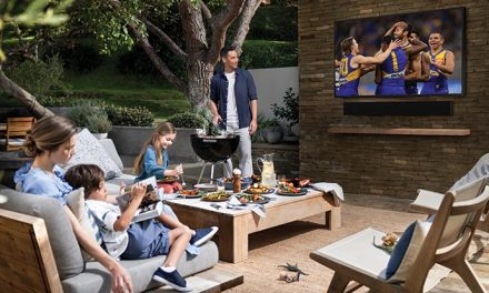 Backyard beauty – Samsung's The Terrace TV