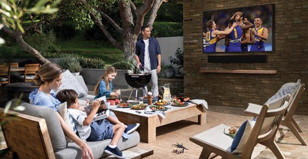 Backyard beauty – Samsung's The Terrace TV