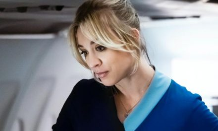 Kaley Cuoco is The Flight Attendant