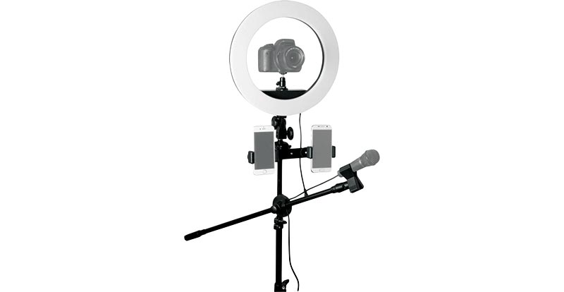 "Influencer 14"" Ring Light Tripod Kit"
