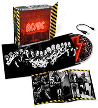 AC/DC light box edition of new album POWER UP