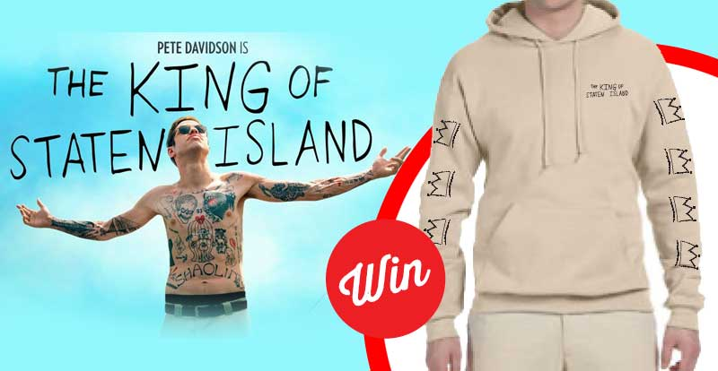 WIN The King of Staten Island exclusive hoodie!