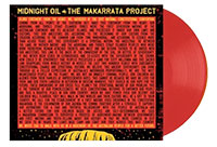 Album cover artwork for vinyl of The Makarrata Project by Midnight Oil