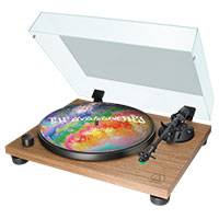 Audio-Technica turntable with The Avalanches slipmat