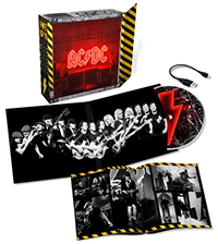 AC/DC PWR/UP deluxe lightbox edition