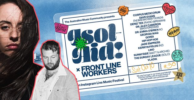 ISOL-AID #30 to feat. frontline-heroes-cum-musos