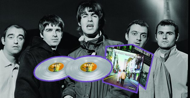 Gleaming silver vinyl of Oasis' breakout album is out today