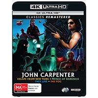 4K December 2020 - John Carpenter Collection