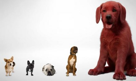 Clifford is red, red, ready for his close-up!