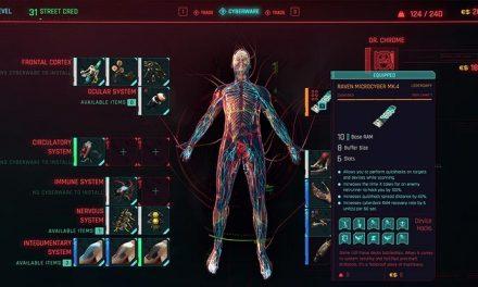 Cyberpunk 2077 PlayStation gameplay