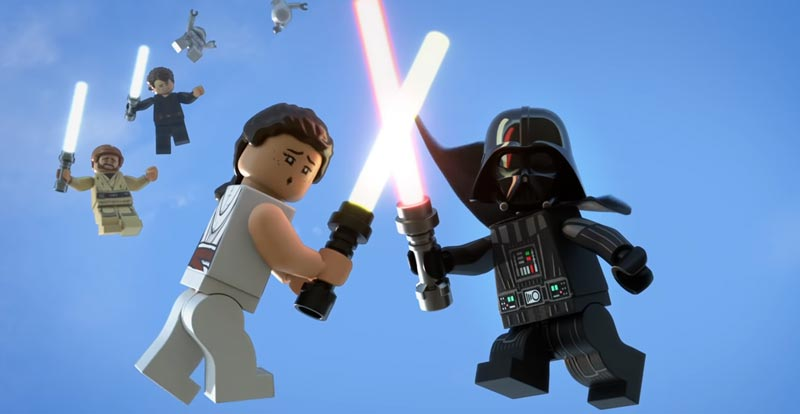 The LEGO Star Wars Holiday Special brings ghosts of Star Wars past