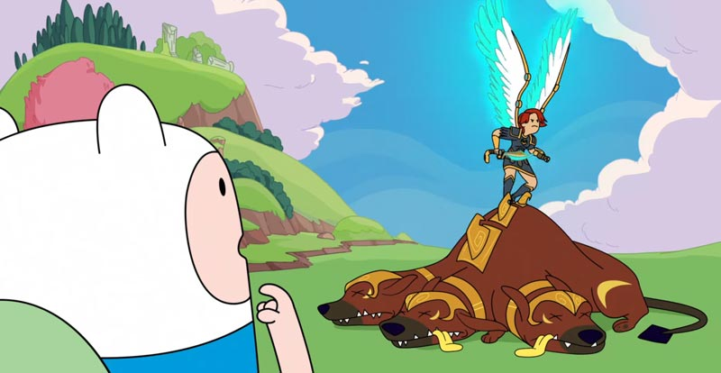 It's Adventure Time for Immortals Fenyx Rising!