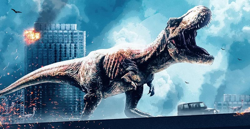 Jurassic World: Dominion is in the can