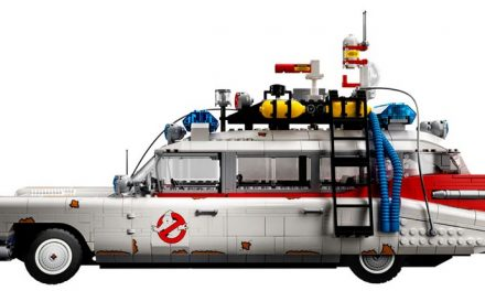 Around the block with Ghostbusters