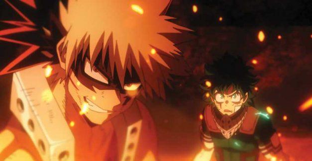 My Hero Academia: Heroes Rising on Blu-ray December 9