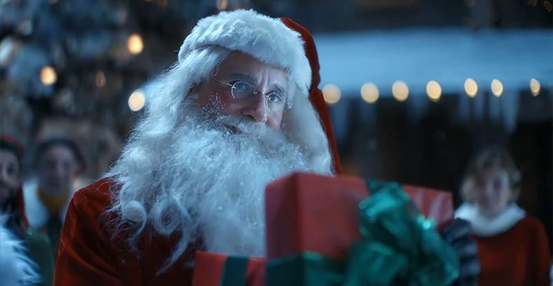 Steve Carell is Father Christmas!