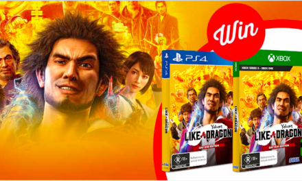 WIN Yakuza: Like a Dragon