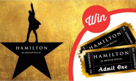 Hamilton hits Australia!