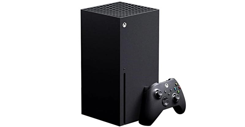 Playing with the Xbox Series X