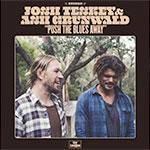 Album cover for Teskey Grunwald album Push The Blues Away