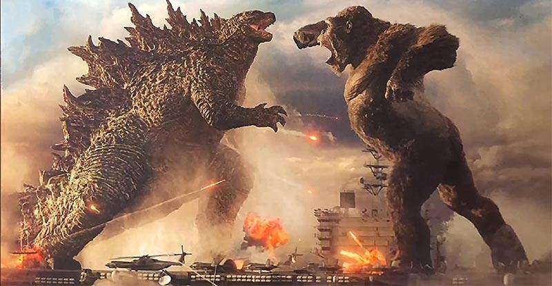 Godzilla vs. Kong – don't blink!