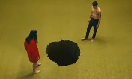 A hole new New Order video