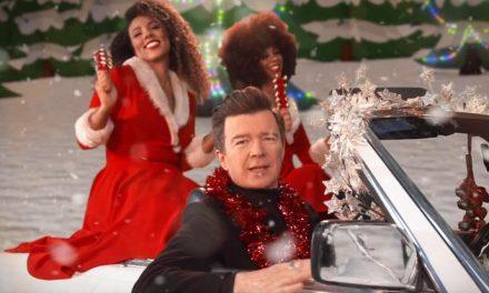 Rick Astley brings the Christmas cheese