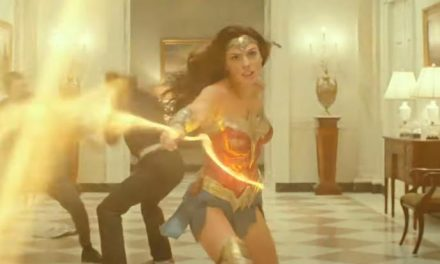 Whipping up a taste of Wonder Woman 1984