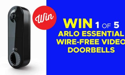 WIN an Arlo Essential Wire-Free Video Doorbell