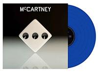 JB-exclusive blue vinyl LP of Paul McCartney record