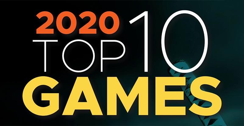 2020 Top 10 games