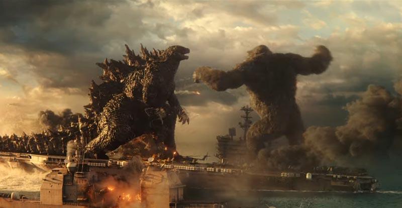 It's on like Godzilla vs. Kong!