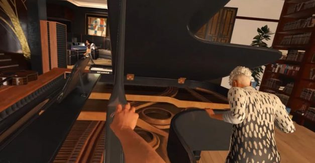 It's Steinway or the highway as Hitman goes VR