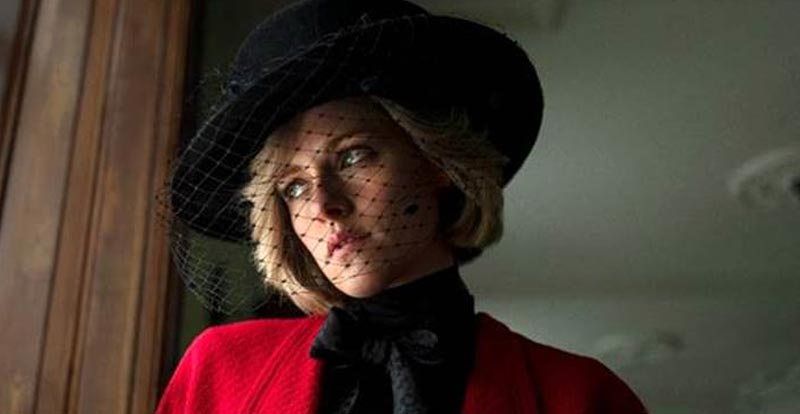 This is Kristen Stewart as Princess Diana