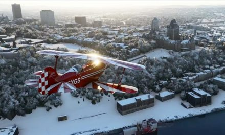Snow business in Microsoft Flight Simulator