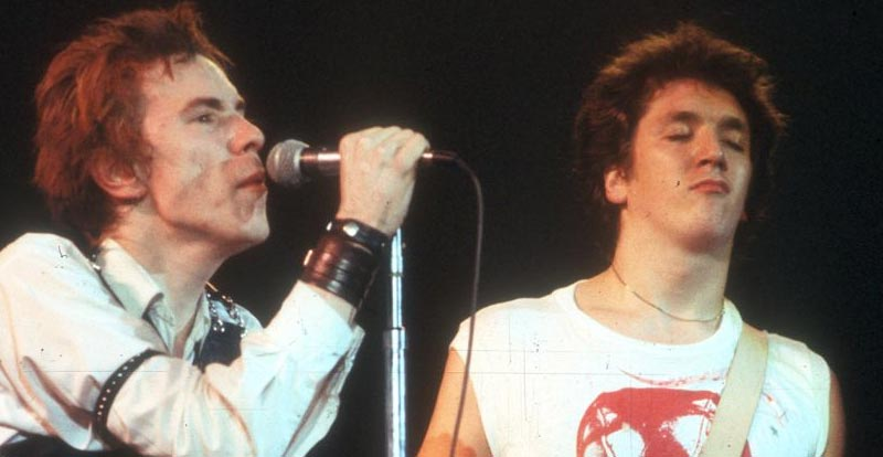 Danny Boyle and the Sex Pistol