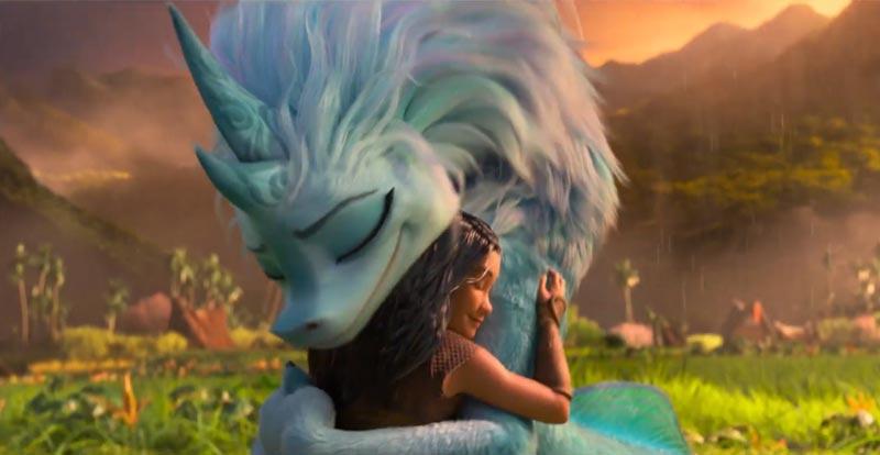 A new look at Disney's Raya and the Last Dragon